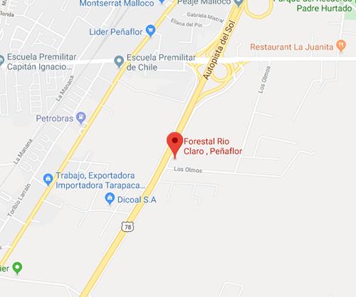 ubicacion rio claro peñaflor