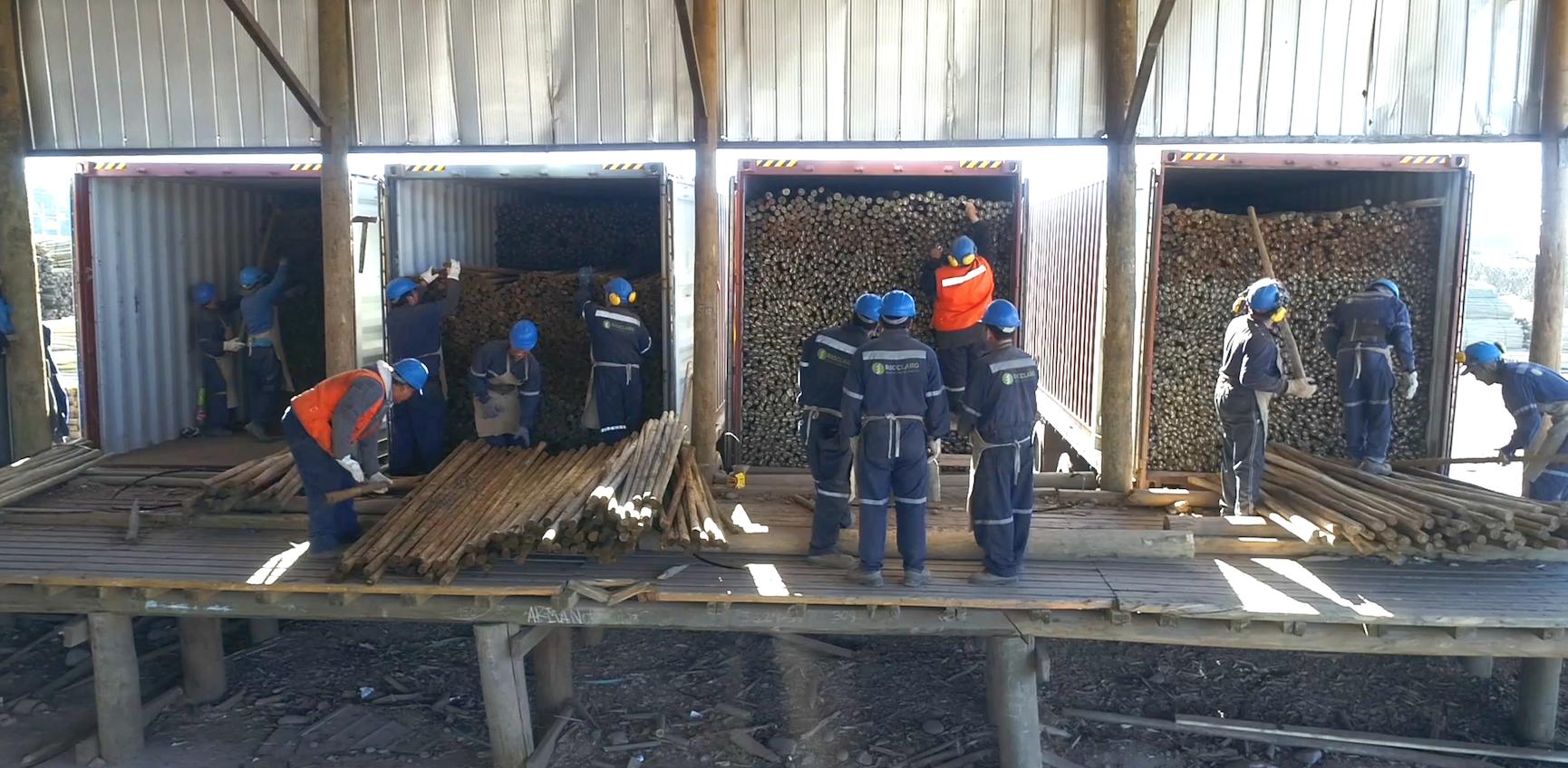 Exportacion de madera