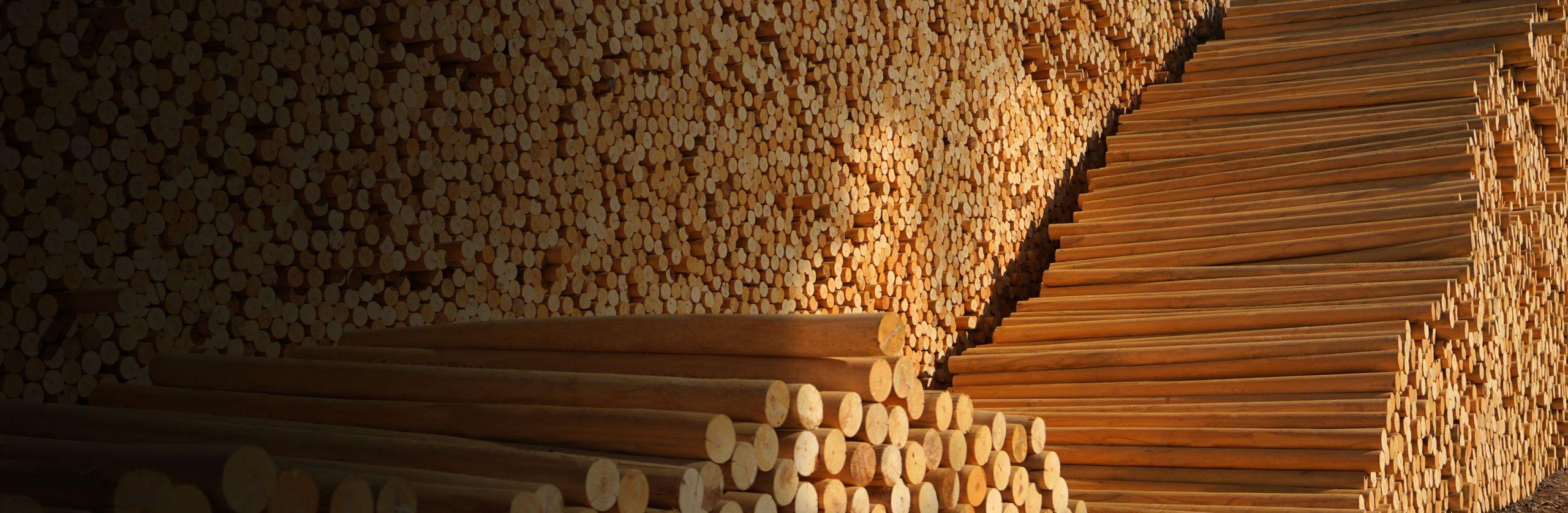Postes de madera rio claro