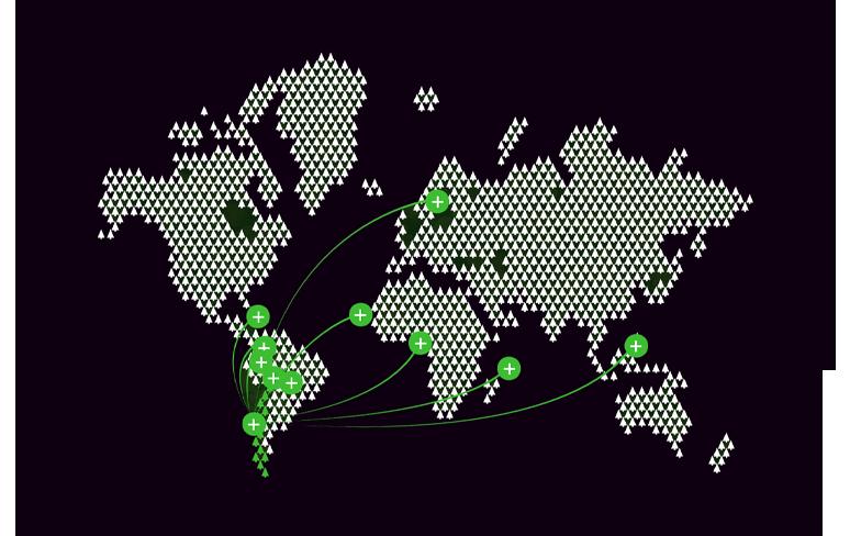 Lugares de exportacion